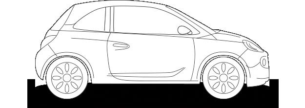 Kfz-Versicherung Opel Adam
