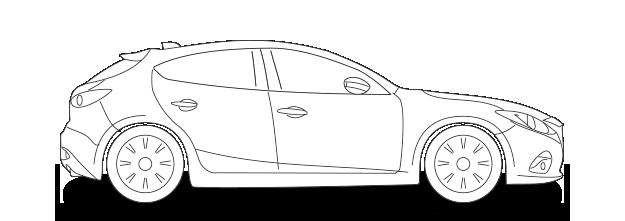 Kfz-Versicherung Mazda3